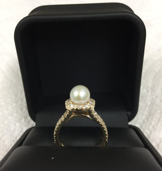 Halo - Pearl Ring